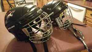 Hockey Helmets with Cages (kids) Kawartha Lakes Peterborough Area image 1