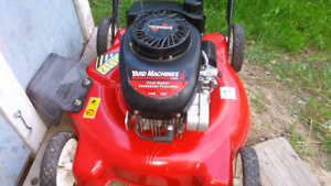 Yard Machines push mower
