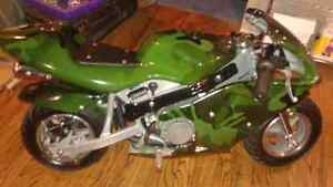 49cc pocket bike like new.