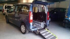 2012 Peugeot Partner Tepee Diesel Disabled Car Wheelchair Accessible Vehicle