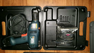 This Black and Becker Hammer drill is like new