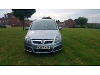 Vauxhall Zafira automatic 1.8 petrol low mileage
