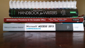 Office Administration books forsale