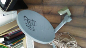 Bell expressview satellite dish and 3100 reciever