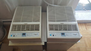 2 a/c window units for sale great condition