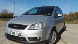 2007 Ford Focus C-Max MPV 2.0 TDCi Ghia 2 Owners Full Service History HPI Clear