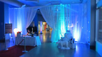 DJ & Event Services now offering backdrops for your next event!
