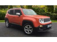 2016 Jeep Renegade 2.0 Multijet Limited 5dr 4WD (TomTom Nav)(Heated L Auto Hatch