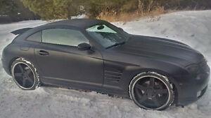 2005 Chrysler Crossfire Limited Coupe --- Mercedes-Benz SLK320