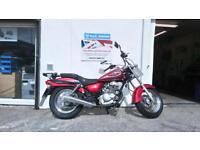 Suzuki GZ125 Y 2001 Marauder Learner Legal Custom Motorcycle 125cc only 2 owners
