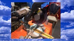 MAXIMUM Dual Bevel 10 INCH Sliding COMPOUND Mitre Saw
