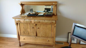 Quarter sawn oak sideboard