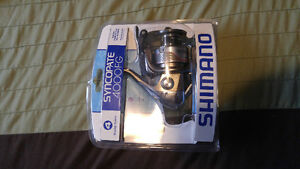 Shimano Spinning Reel & Bass Pro 7 ft Rod