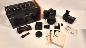 Sony a77ii 16-60mm f/2.8 SSM With Grip And Extras