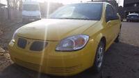 2006 Pontiac G5 Coupe in Shining Yellow