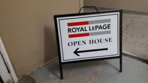 Open House Signs for Real Estate Agents