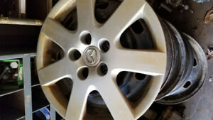 07 Mazda 6 winter rims with hubcaps