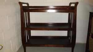 Wood - baby change table