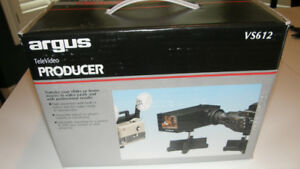 NEW ARGUS TELEVIDEO PRODUCER MODEL VS612 TO SCAN SLIDES