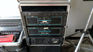 Peavey Amplifiers with SKB Case