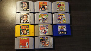 Prime N64 Collection For Sale