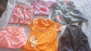 Girls 18 months clothing lot (6 items )