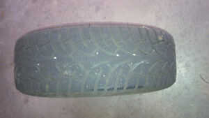 225  60R16 Winter Tires on Rims  (4) Kitchener / Waterloo Kitchener Area image 2