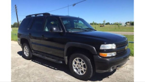Looking for a 2001-2006 Tahoe for parts