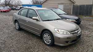 2004 Honda Civic LX~CLEAN HISTORY~WARRANTY~SAFTY~ETEST~FINANCING