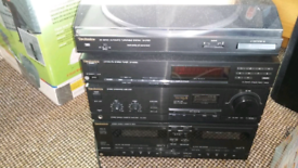 Tecknic hi fi for sale with speakers