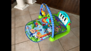 SOLD - Mint Fisher-Price Kick and Play Piano Gym