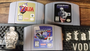 NES, SNES, N64, Game Boy, Playstaion