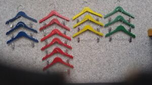 Colourful and Sturdy Baby/Children's Hangers