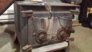 Wood stove, poele a bois