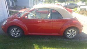 2010 Volkswagen Beetle Convertible with Heated Seasts