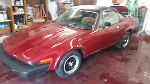 1980 TRIUMPH TR7 CONVERTIBLE RARE COLLECTABLE London Ontario image 5