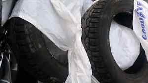 6 185/65/15 studded .. 4 195/65/15 tires