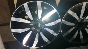 Two Honda civic alloy wheels 17 inch