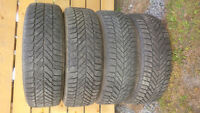 215-65-16 winter tires with steel rims(4)