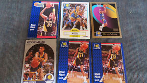 Reggie Miller NBA cards(6)