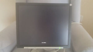 """Sharp LCD Screen. 17"""" Monitor with cables. Came with cpu. $15"""