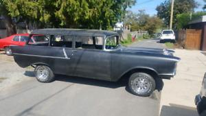 1957 Chevy 2 door wagon