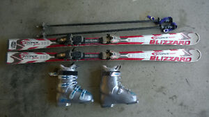 ensemble de ski alpin