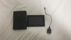 Blackberry tablet 16gb with blackberry case and charger.