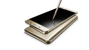 Brand New Unlocked Samsung Galaxy Note 5 LTE Dual SIM Gold 64GB