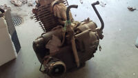 1985 Big Red 250 Motor for parts only
