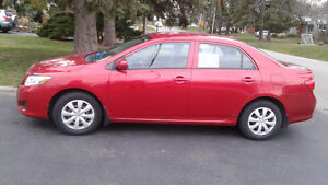 2012 TOYOTA COROLLA  4 TO CHOOSE