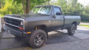 Dodge cummins 1st gen 1990