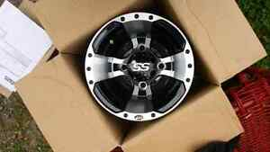 Two brand new rear itp ss alloy rims