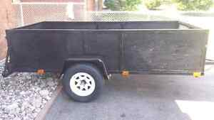 Heavy Duty Landscape / Hunting / Utility Trailer With Electric B